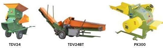 Maquina Trituradora de Desecho Vegetal