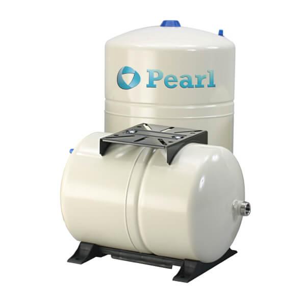 Tanque Alta Presión 100 Litros Horizontal Metálico en Diafragma Pearl