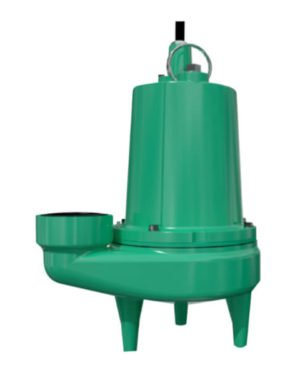 Bomba Sumergible Aguas Negras 0.5 HP Monofasica Barnes