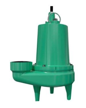 Bomba Sumergible Aguas Negras 1 HP Monofasica Barnes