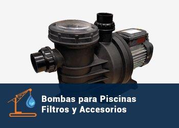 Bombas para Piscinas, Filtros y Accesorios