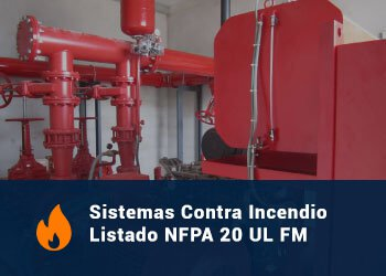 Sistemas Contra Incendios Listado NFPA